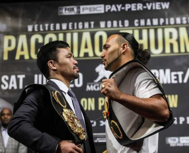 Keith Thurman Reviews his Title Defense Fights prior to Manny Pacquaio [Sports]