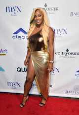 Niya Lee on Red Carpet at Missy Elliott's Afterparty with Courvoisier-Optimized
