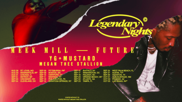 Future Offering Scholarships at Every City of Legendary Nights Tour