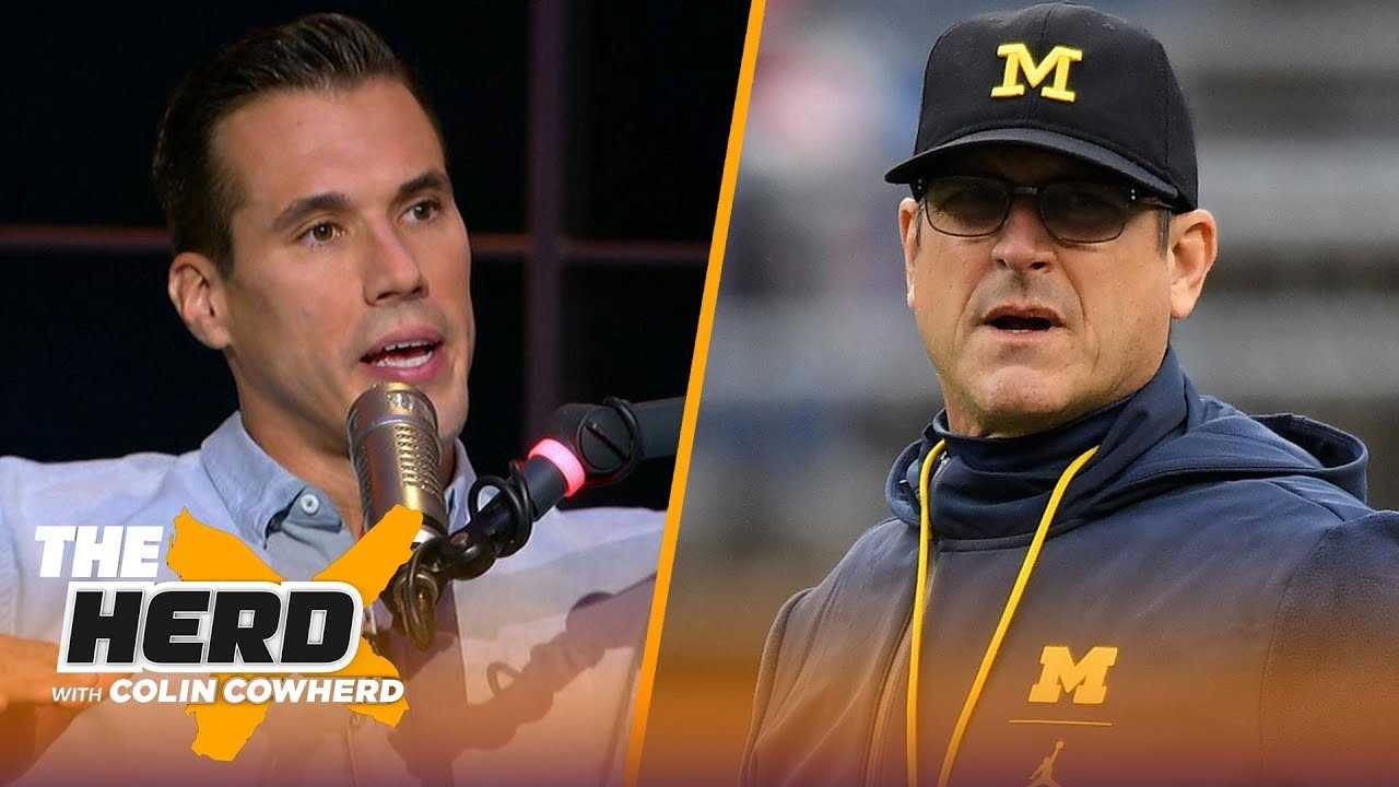 Brady Quinn joins Colin to talk Notre Dame's win, OU and Jim Harbaugh's future   CFB   THE HERD