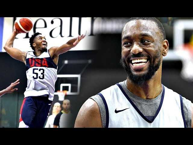 Kemba Walker DOESN'T MISS!! Team USA vs Select Team Scrimmage! Donovan Mitchell Is Lights Out?