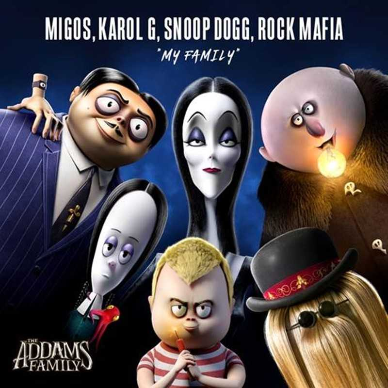 """Migos and Snoop Dogg Debuts New Track """"My Family"""" For The Addams Family Soundtrack"""