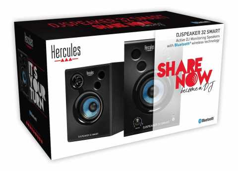 Hercules Wireless Bluetooth® monitoring speakers for mixing, creating, and listening to music?