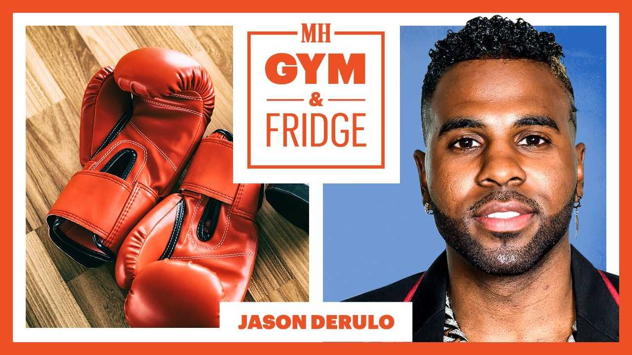 Jason Derulo Shows His Gym & Fridge   Gym & Fridge   Men's Health