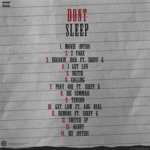 NYC Rapper Sleepy Hallow Announces Debut Mixtape DON'T SLEEP