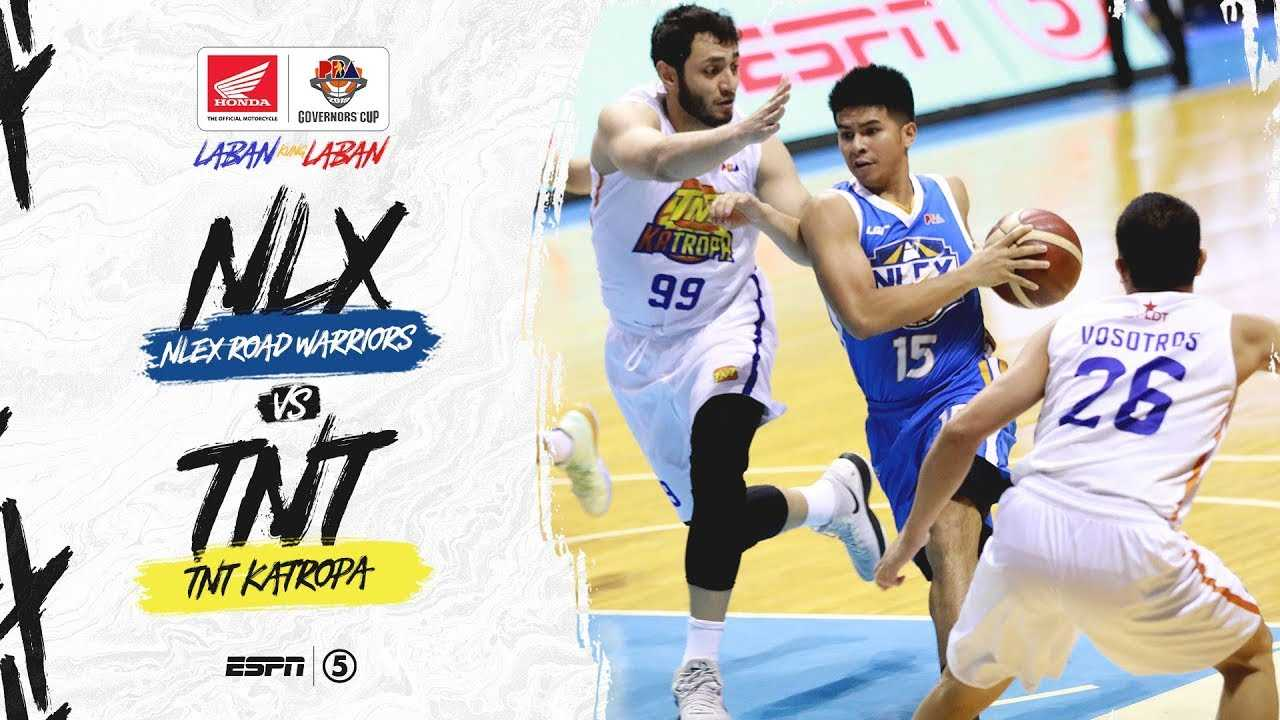 Full Game: NLEX vs TNT   PBA Governors' Cup 2019