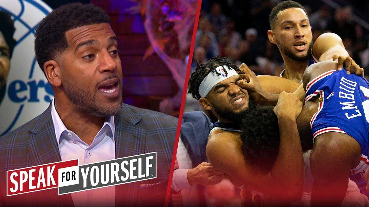 Jim Jackson on brawl between Towns and Embiid, sorry state of Warriors | NBA | SPEAK FOR YOURSELF