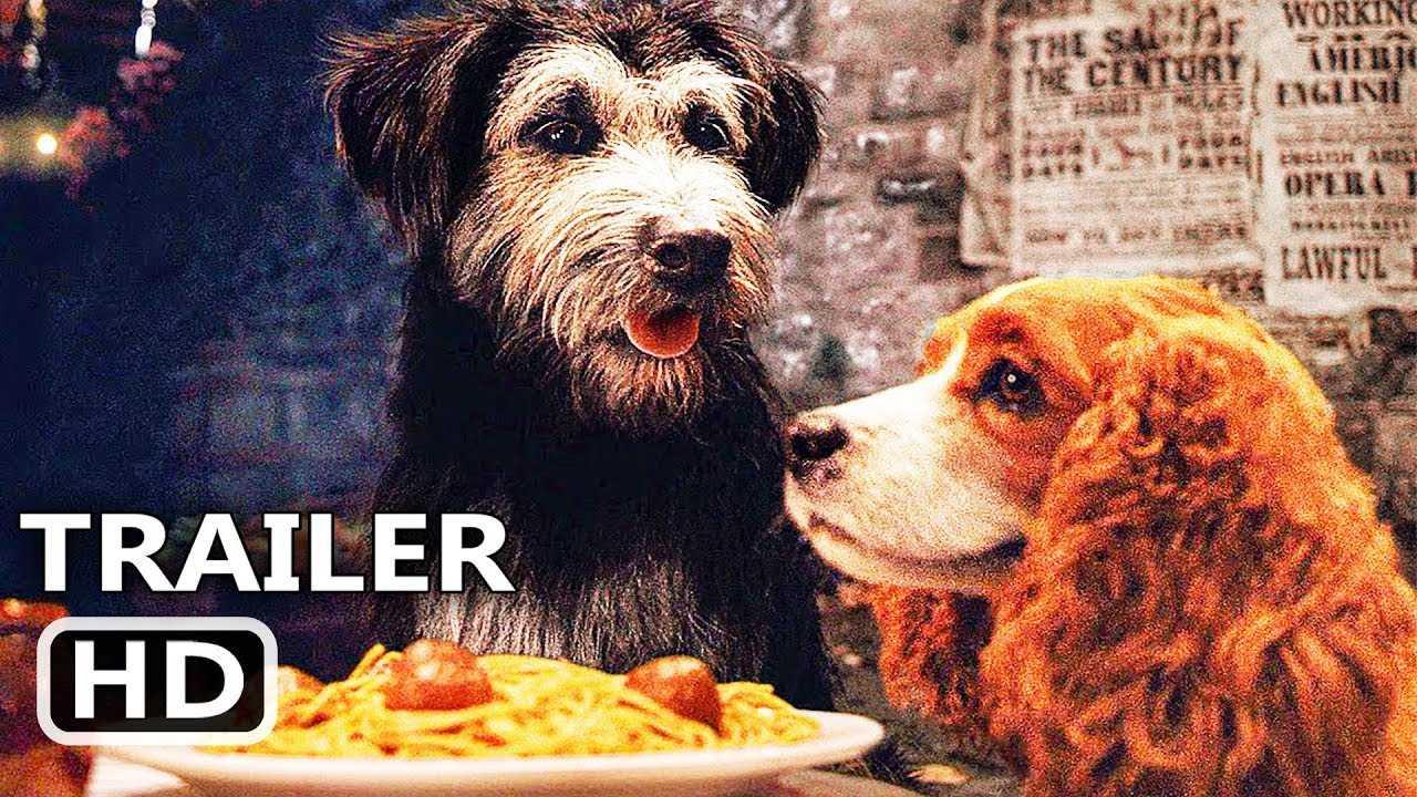 "LADY AND THE TRAMP ""Spaghetti Scene"" (NEW, 2019) Disney Movie Clip HD"