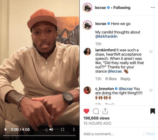 Lecrae Reacts To Kanye Album and Talks Dove Award Boycott