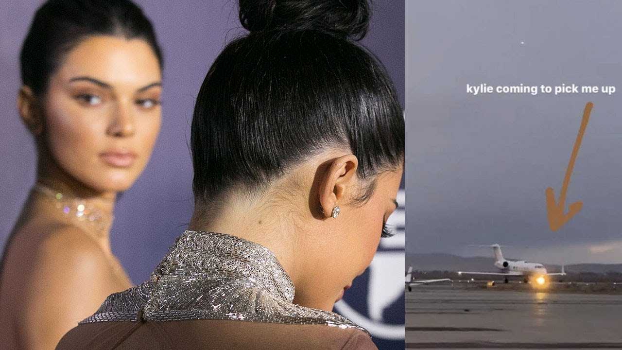 Kendall Jenner Gets DRAGGED For DESTROYING The Planet After Kylie Picks Her Up In A Private Jet!