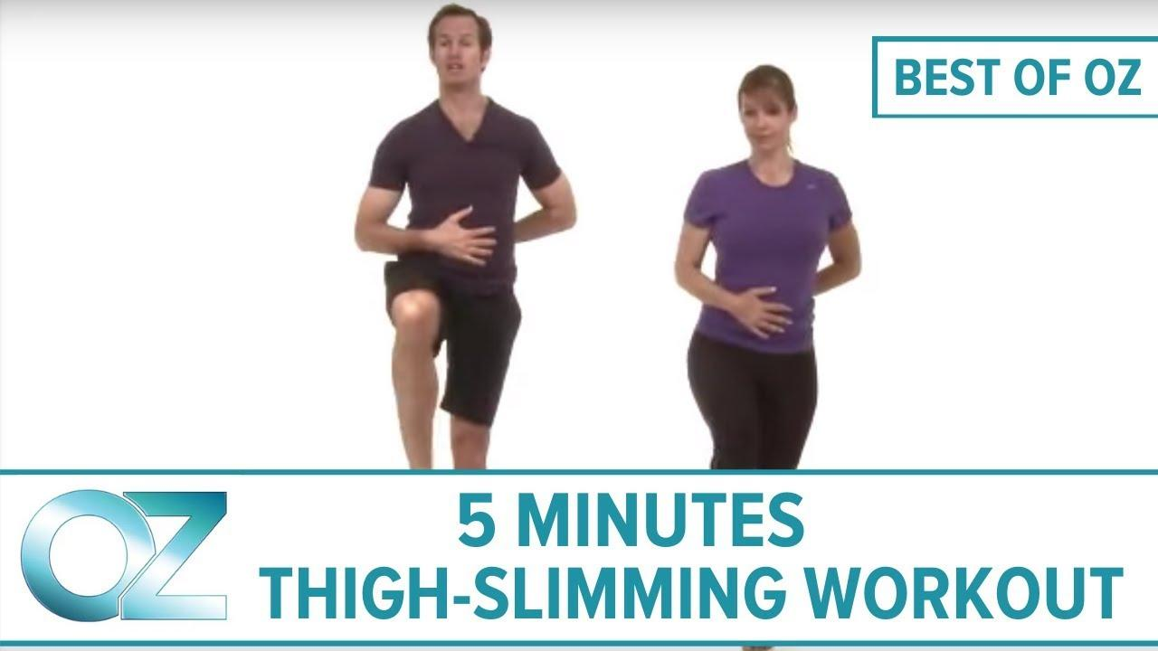 5-Minute Thigh-Slimming Workout - Best Of Oz Collection