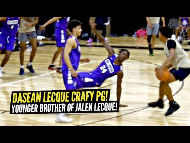 Jalen Lecque's Younger Brother Dasean Lecque Is a CRAFTY PG w/ SMOOTH GAME! Desert Vista v Millenium