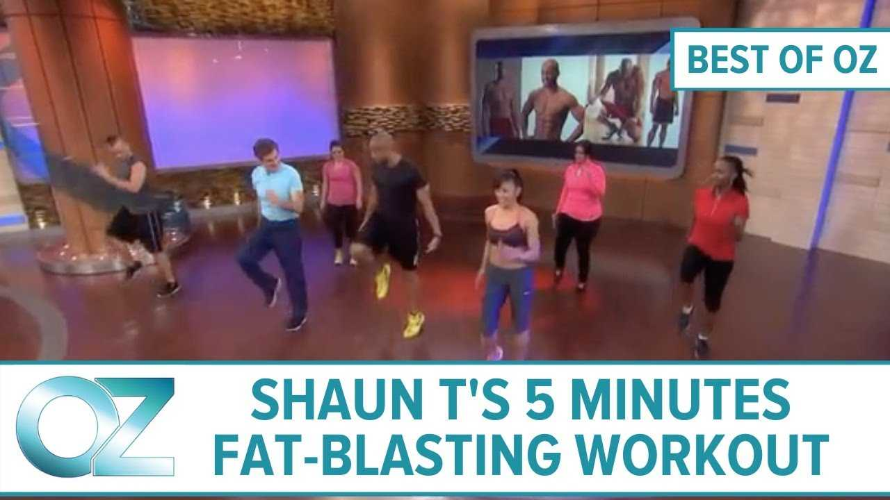 Shaun T's 5-Minute Fat-Blasting Workout - Best of Oz Collection