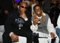 "MIAMI, FLORIDA - FEBRUARY 01: Birdman and Lil Waune attend Lil Wayne's ""Funeral"" album release party on February 01, 2020 in Miami, Florida (Photo by Gerardo Mora/Getty Images for Young Money/Republic Records)"