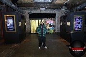 """Visual artist, Al-Baseer Holly (ABH) unveils his limited edition art installation """"Courvoisier by Al-Baseer Holly) at Maison Courvoisier on Saturday, February 15, 2020. The augmented reality (AR) installation pays homage to Pusha-T, multi-platinum rapper, host and curator of Maison Courvoisier, who hand-selected the talented artist. (Photo by Jeff Schear/Getty Images for Courvoisier Cognac)"""