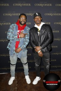 LaRoyce Hawkins and Kris Lofton attend the Maison Courvoisier event on Saturday, February 15, 2020. Maison Courvoisier is an immersive luxury experience that pays homage to the brands Chateau in France and showcases the power of shared success by partnering with talent at the top of their game to spotlight their favorite artists in the areas of fashion and art. (Photo by Jeff Schear/Getty Images for Courvoisier Cognac)