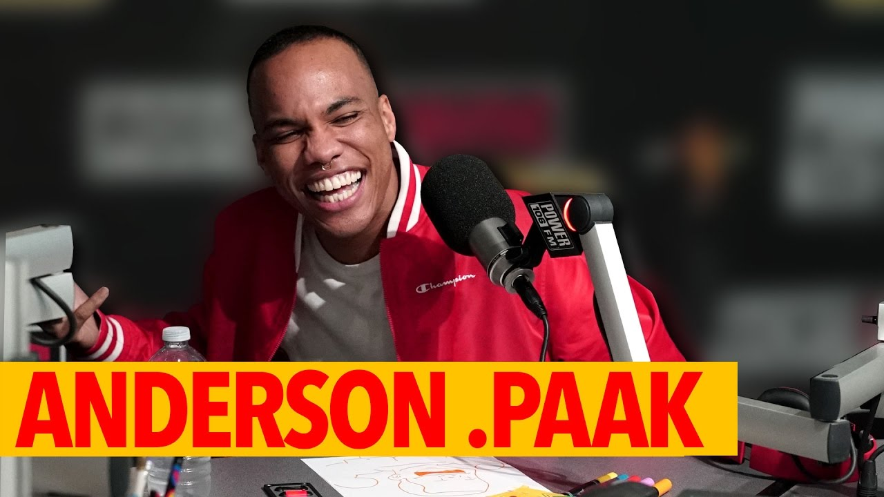 Anderson .Paak Talks Working with Dr. Dre, his latest album 'Malibu' on #TheCruzShow [Interview]