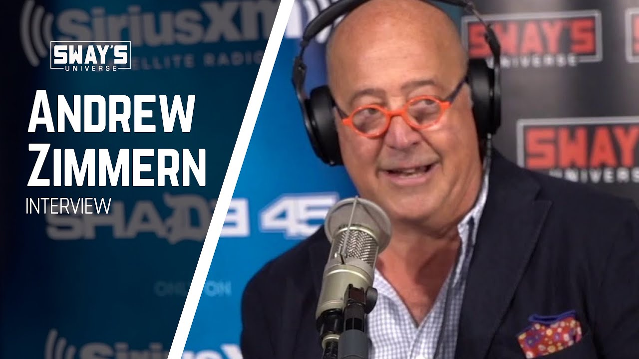 """Andrew Zimmern Talks Food Issues on New Show """"What's Eating America""""   SWAY'S UNIVERSE"""