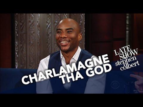 "Charlamagne Tha God Talks New Book ""Black Privilege"" with Stephen Colbert [Interview]"