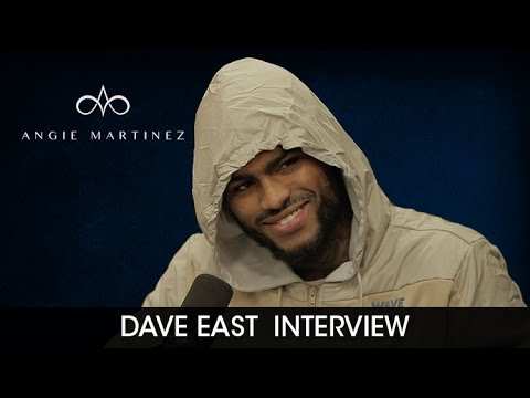 Dave East Speaks On Cam'ron & Jim Jones Beefing with Angie Martinez [Interview]