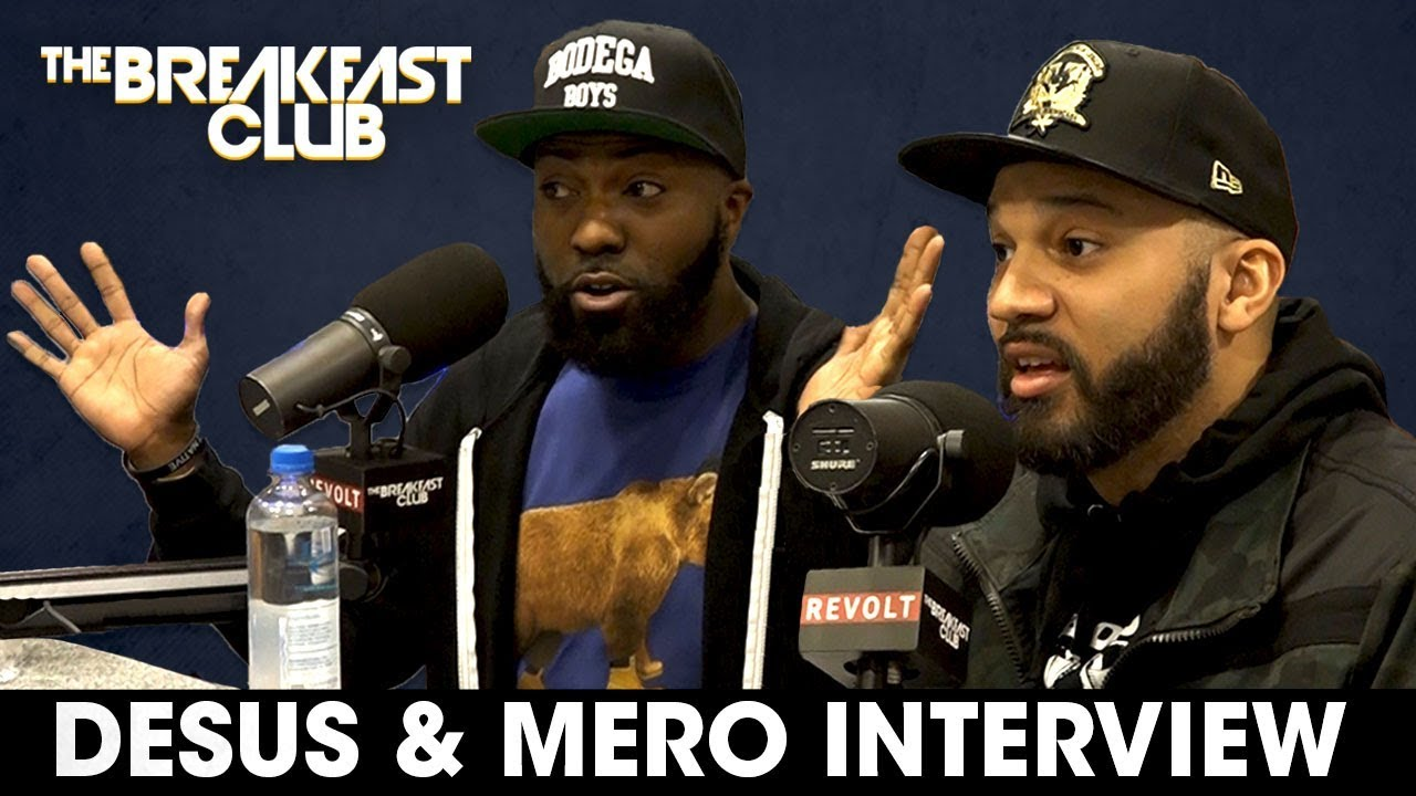 DJ Envy Gets Heated with Desus & Mero During Breakfast Club Interview