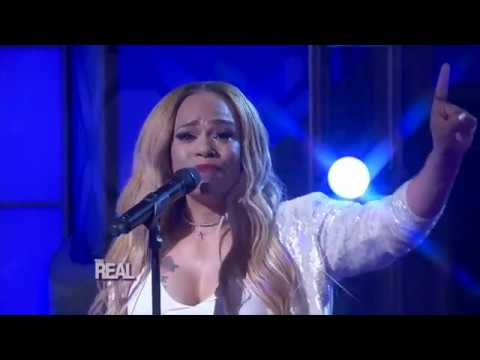 Faith Evans Performing Her Single 'Legacy'on The Real