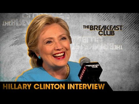Hillary Clinton Talks Presidential Debates, Chicago Cubs, Police Brutality on The Breakfast Club [Interview]