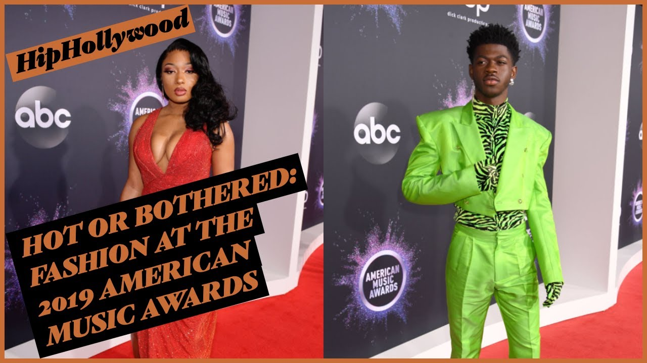 Hot Or Bothered: Fashion At The 2019 American Music Awards