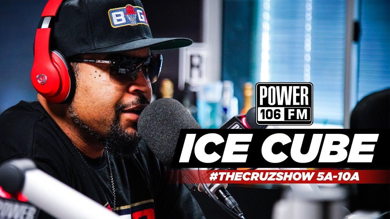 Ice Cube Talks Big 3, Allen Iverson Suspension [Interview]