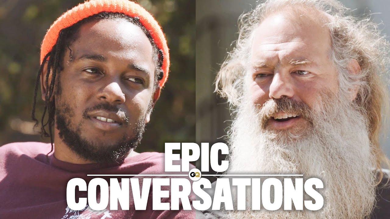 Kendrick Lamar Meets Rick Rubin [Video]