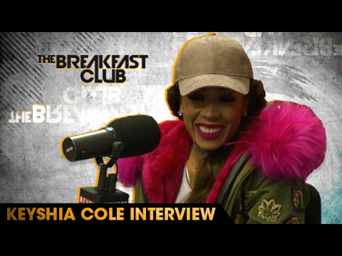 Keyshia Cole Talks Signing to Epic Records, Her New Single with French Montana & Remy Ma, Past Relationships on The Breakfast Club [Interview]