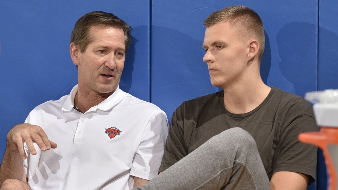 "Knicks Coach Tells Kristaps Porzingis to ""Stop Playing Like a P*SSY"" [Sports]"
