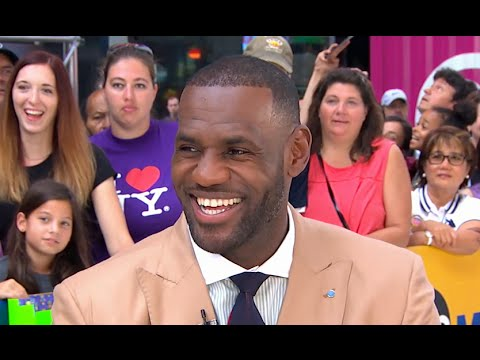 LeBron James Highlights His Work Off The Court on GMA with Robin Roberts [Interview]