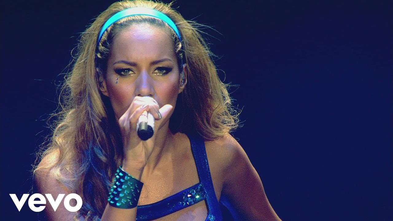 """Leona Lewis Performs """"Forgive Me"""" Live At The O2"""