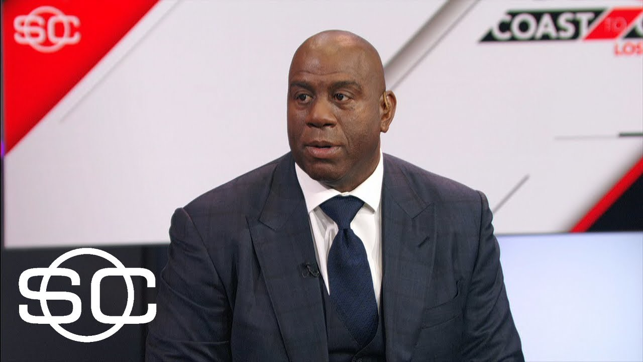 Magic Johnson talks Lakers $500K fine for Paul George tampering