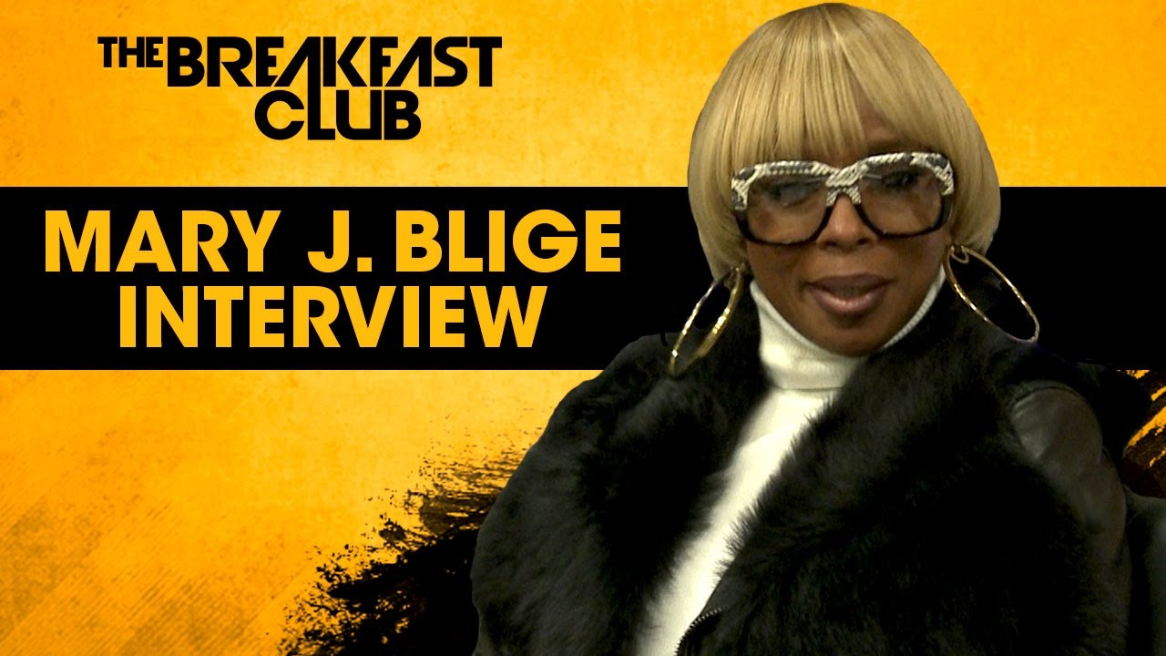 """Mary J. Blige Talks New Album """" Strength of A Woman"""", Her Divorce [Interview]"""