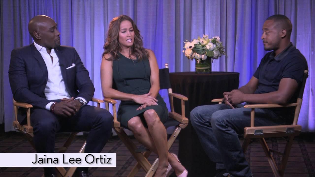 Morris Chestnut & Jaina Lee Ortiz on the show Rosewood [Interview]