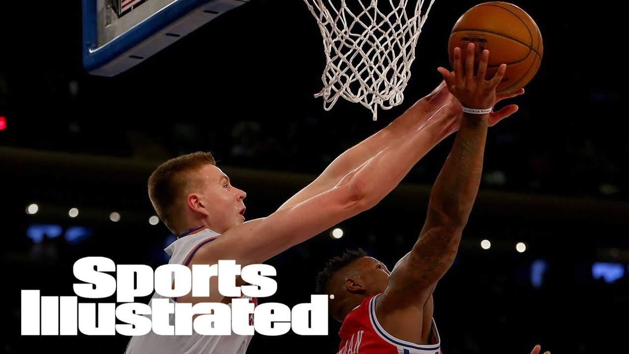 NY Knicks Kristaps Porzingis To Donate $500 to Charity For Every Block [Sports]