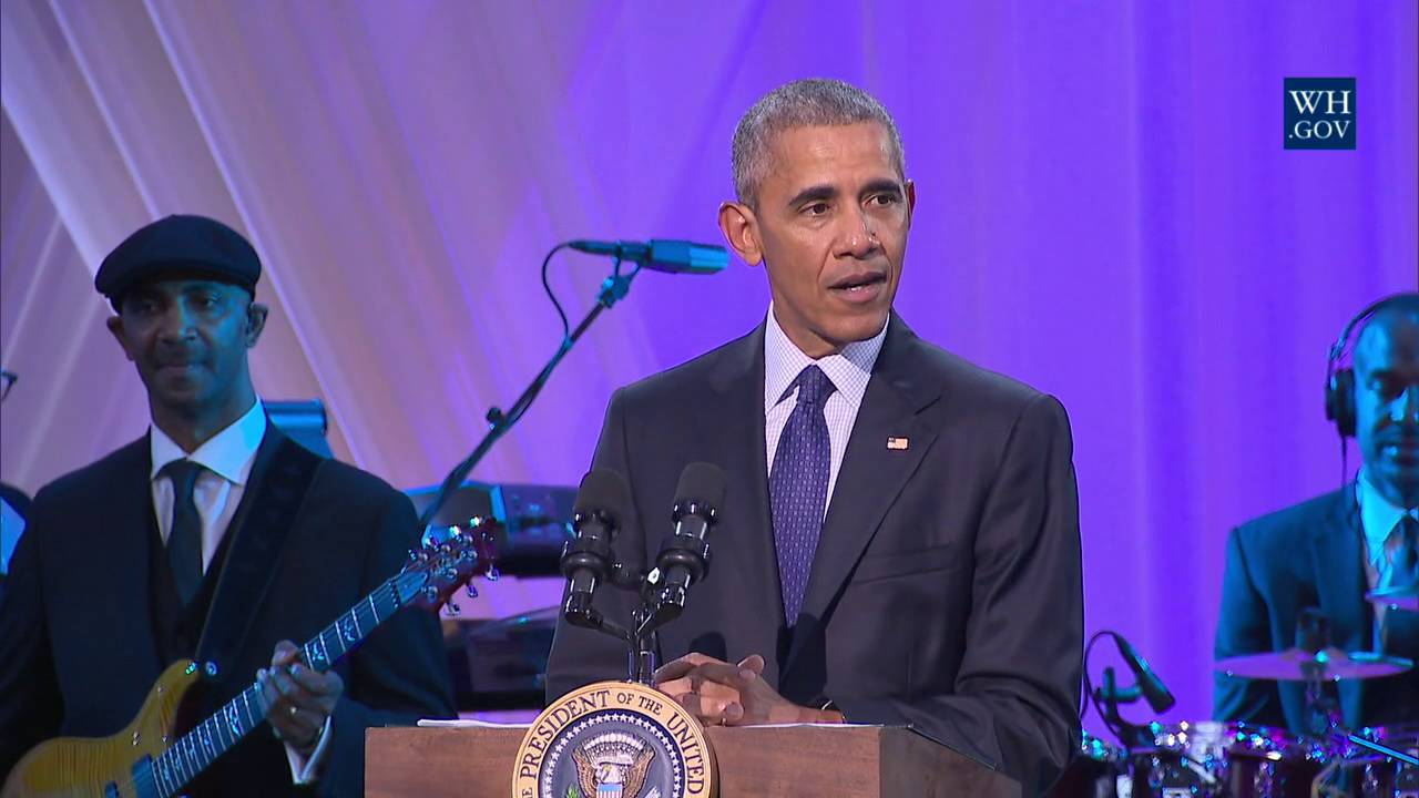 """President Obama Speaks at BET's """"Love and Happiness: A Musical Experience"""" [Video]"""