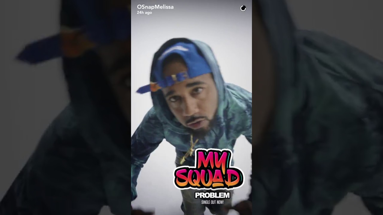"""PROBLEM - """"MY SQUAD"""" (SNAP CHAT INSPIRED MUSIC VIDEO) [VIDEO]"""