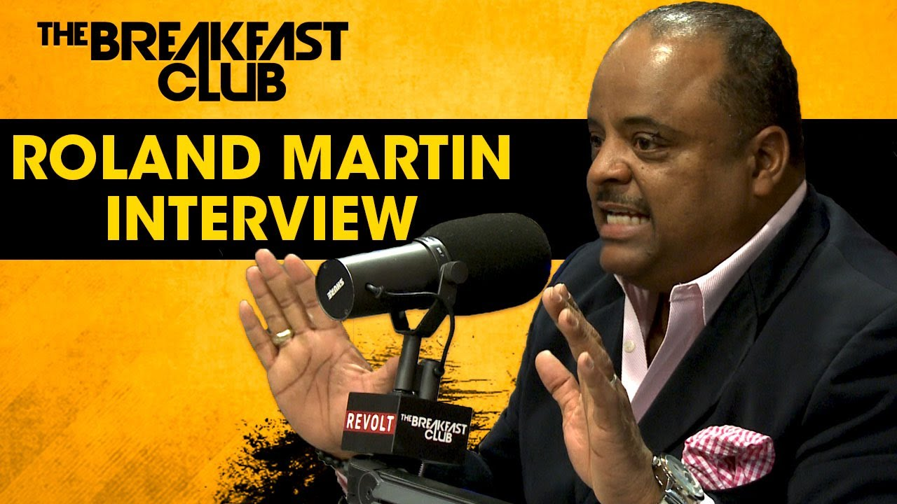 Roland Martin On Pres. Donald Trump Ties to Russia, The Importance of the NAACP