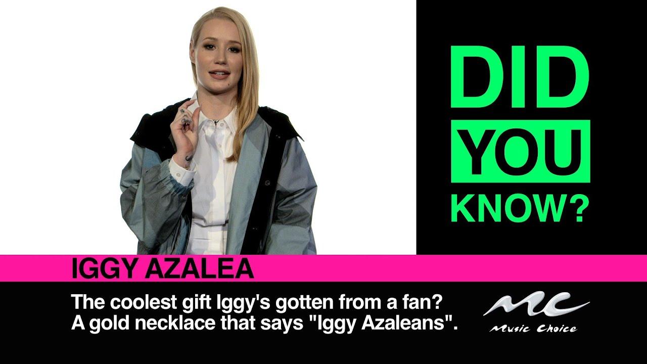 Watch: Iggy Azalea - Did You Know? [Interview]