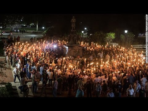 White Nationalists descend on UVA Carrying Burning Torches