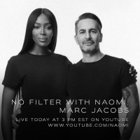 "NAOMI CAMPBELL ANNOUNCES MARC JACOBS AS SECOND GUEST CONVERSATION FOR ""NO FILTER WITH NAOMI"""