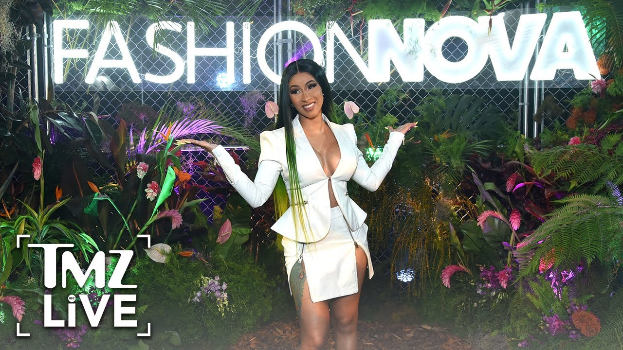 Cardi B & Fashion Nova Giving Away $1,000 Per Hour to Families in Need | TMZ Live