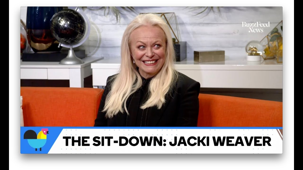 Jacki Weaver Addresses Drama With Anjelica Huston