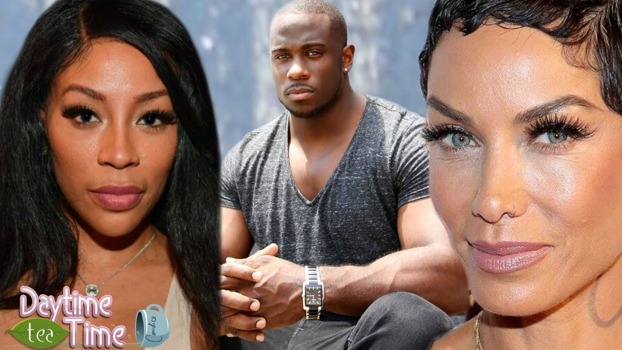 K.Michelle GOES OFF on Nicole Murphy + Derrick Jaxn sits down with K. Michelle and HELPS her issues!