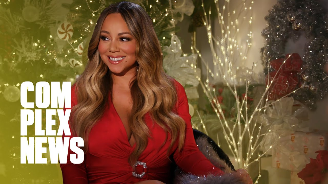 Mariah Carey Celebrates Christmas with 'All I Want For Christmas is You'