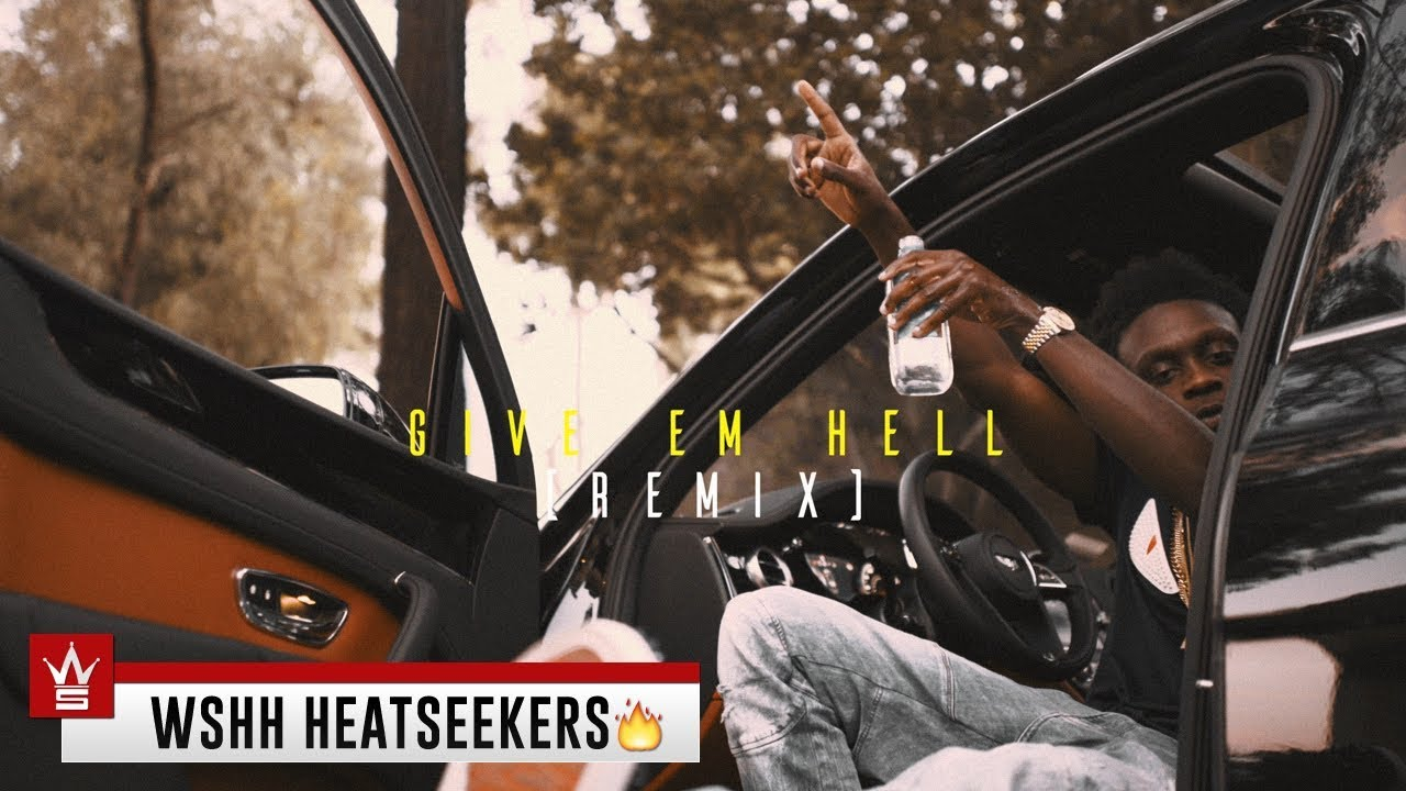 """ColdHeartedAc - """"Give Em Hell (Remix)"""" (Official Music Video - WSHH Heatseekers)"""