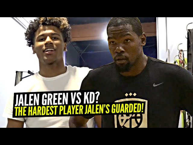 Jalen Green vs Kevin Durant?? Jalen Opens Up About The Hardest Players He's Guarded & MORE!